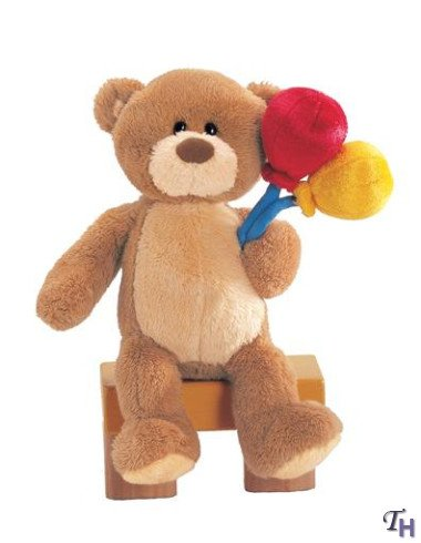 "Gund ""Best Wishes"" Message Bear"