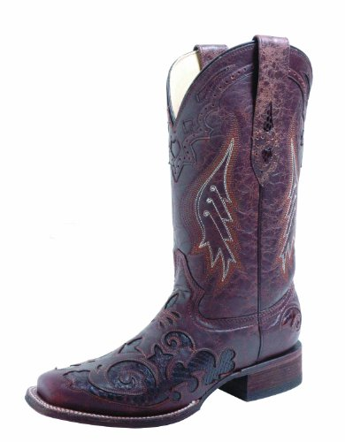 Corral Boot� Python Inlay Boot for Women 8 M B