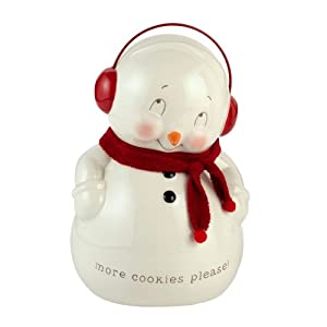 Snowpinions from Department 56 Snowman Cookie Jar