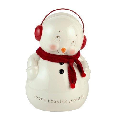 Department 56 Snowman Cookie Jar