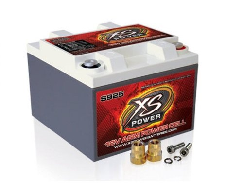 XS Power S925 'S Series' 12V 2,000 Amp AGM Automotive Starting Battery with Terminal