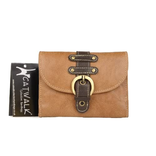 Catwalk Collection Leather Purse - Jodie