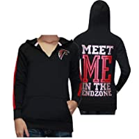 Womens NFL Atlanta Falcons Athletic Pullover Hoodie by Pink Victoria's Secret by Pink Victoria's Secret