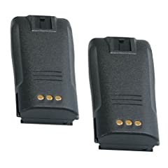 Hitech - 2 Pack of NNTN4497 Replacement Batteries for Motorola CP040, CP140, CP150,... by Hitech