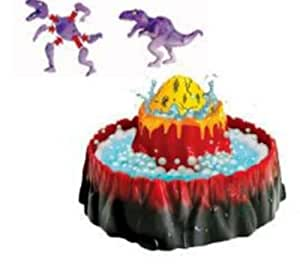 Wild Planet Dino Magic Volcano Playset with Magic Egg