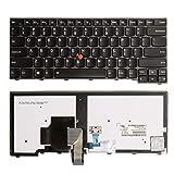 Tellus Remarketing ApS Lenovo T440 T450 T440s T450s L440 L450 T440p T460 US Backlit Keyboard