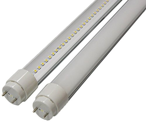 Goodlite G-20416 22-Watt 4-Feet T8 T10 Or T12 Led Tube 32W 40W Fluorescent Bulb Replacement, Ul And Dlc Approved Single End Power Frosted