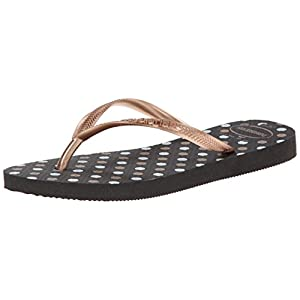 Havaianas Slim Fresh Women's Sandal in Black
