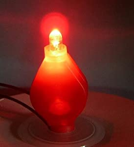 String Lights Vase : Amazon.com - 10 Light Ups Battery~RED Lights~Eiffel Tower Vase~Small Decor Wedding Lights ...