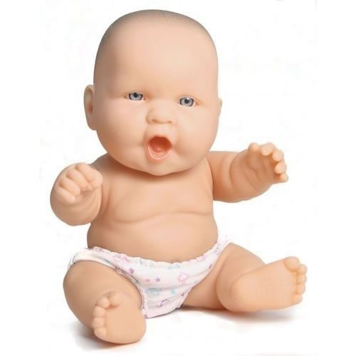 """1 ++ ++ 8"""" Baby Doll Caucasian ++ JC Toys Designed by Berenguer Lots To Love"""