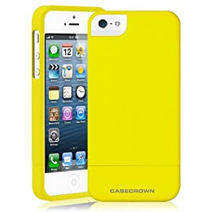 CaseCrown Cali Glider Case (Yellow Sunset) for Apple iPhone 5