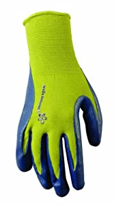 Wells Lamont 536S Womens Nitrile Coated Nylon Work Gloves, Small