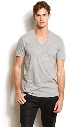Armani Exchange Mens Pima V-neck Tee