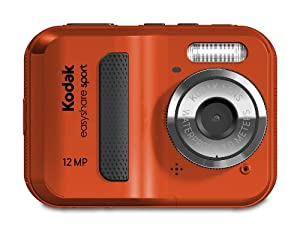 Kodak EasyShare Sport C123 12 MP Waterproof Digital Camera (Red)