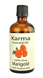 100% pure Therapeutic Grade undiluted essential oils in 100 ml Bottles-Marigold oil