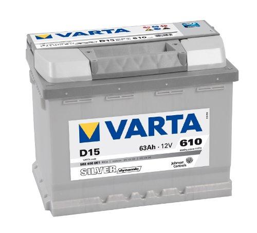 VARTA SILVER DYNAMIC AUTOBATTERIE D15 12V 63AH