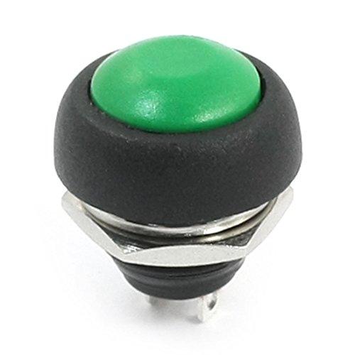radio-shack-spst-colore-verde-con-interruttore-pulsante-momentaneo-a-pannello-in-plastica-12-mm