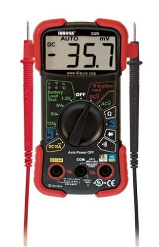 Equus 3320 Auto-Ranging Digital Multimeter