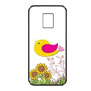 Vibhar printed case back cover for Samsung Galaxy S5 CuteBirdFlo