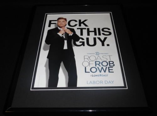 roast-of-rob-lowe-2016-comedy-central-11x14-framed-original-advertisement