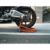 ジェイトリップ(J-TRIP) バイクスタンド ショートローラースタンド(本体) オレンジ JT-125QR