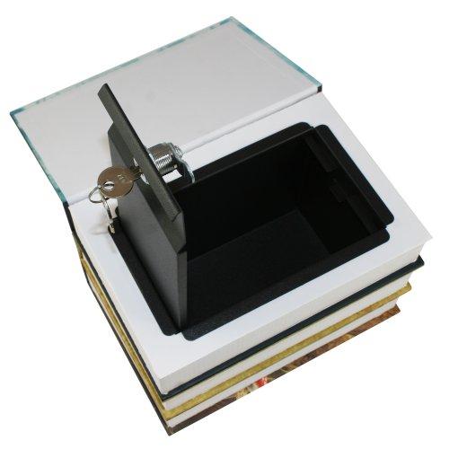 hmf 4312202 caisse monnaie faux livre xl cachette de monnaies 22 x 13 x 15 cm coffre. Black Bedroom Furniture Sets. Home Design Ideas