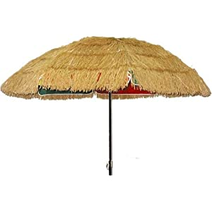 """9 artificial raffia umbrella cover"" - Shopping.com"