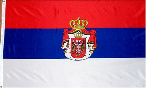 Serbia national flag