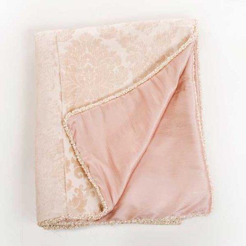 "Glenna Jean Victoria Full/Queen Duvet, Damask/Pink, 87"" x 91"""