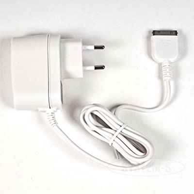 AC Power Adapter Charger Cable with European plug for Apple iPad 1,2 -iPhone Classic 2G, 3G, 4G, 4GS- iPod Touch 1,2,3,4- Nano 1,2,3,4,5,6 Video Classic Mini