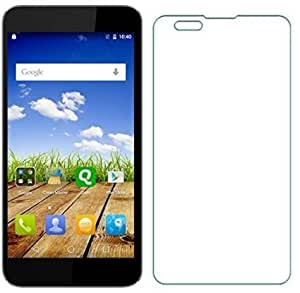 OPUS PRO+ Curve 2.5D TEMPERED GLASS FOR Micromax Canvas Amaze Q395 + OTG CABLE FREE + MICRO USB CABLE
