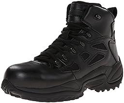 Reebok Men\'s Rapid Response RB8674 Safety Boot,Black,13 M US