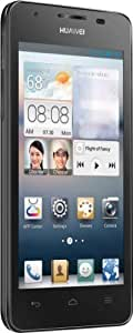 "Huawei Ascend G510 - Smartphone libre Android (pantalla 4.5"", cámara 5 Mp, 4 GB, Dual-Core 1.2 GHz, 512 MB RAM), negro"
