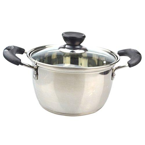 Cuisine épais Pan Pan isolé le lait poignées inox plusieurs tailles au choix vous pouvez utiliser le Mini pot-55