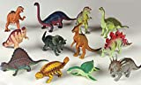 41NEAfWDh L. SL160  6 Piece Assorted Dinosaurs   5 7 Size Dinosaur Figures   each is individually sealed!