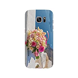 RICKYY _s7edge_1085 Printed Matte designer bunch of flowers case for Samsung S7 edge