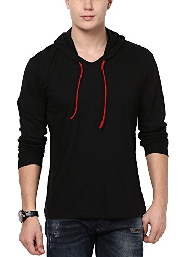 IZINC-Mens-Hooded-Full-Sleeve-Cotton-T-Shirt