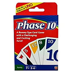 [Best price] Games - Phase 10 Card Game - toys-games