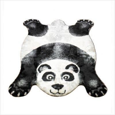 "Panda Kids Rug Size: 3'3"" x 4'7"""