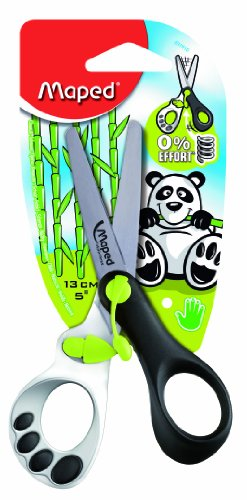 Maped Koopy Spring Scissors, 5 Inches, Assorted Colors (037910) front-136483