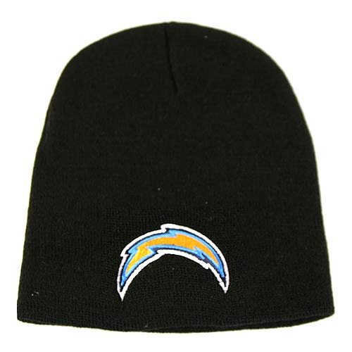 San Diego Chargers Black Knit Beanie at Amazon.com