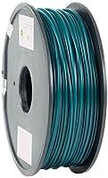 eSun PLA 3D Printer Filament, 3 mm Diameter, 1 kg Spool, Green from Shenzhen Esun Industrial Co., Ltd.