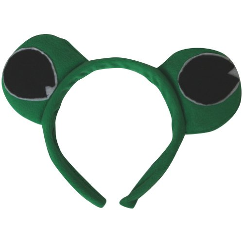 Green Frog Eyes Headband