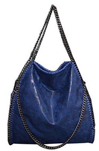 getthatbag-womens-vienna-tote-bag-silver-chain-hardware-bag-l-blue