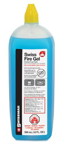 Swissmar F65300 Swiss Fire Gel for Fondues (500ml)
