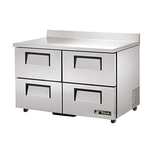 True TWT-48D-4-ADA Worktop Refrigerator 48 2 Section 4 Drawers