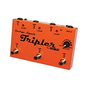 Morley George Lynch Tripler Multi-amp switching device