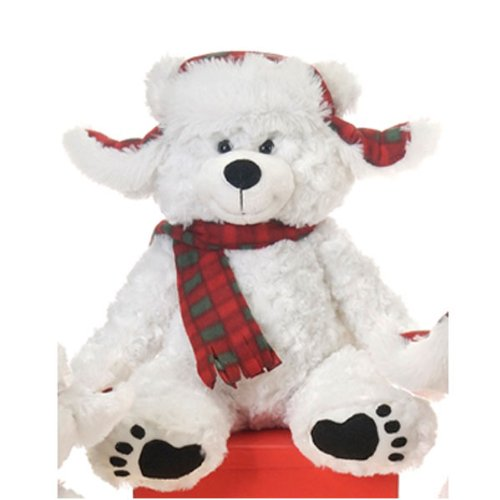 Cuddle White Bear with Scarf 20
