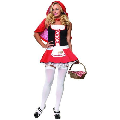 Lil Miss Red Costume - Medium/Large - Dress Size 8-12