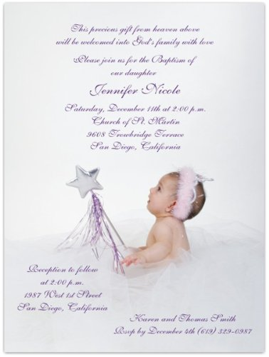 Baptism Invitations Photo front-274120